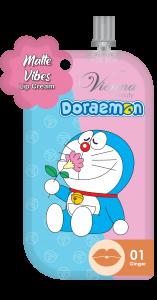 DORAEMON MATTE VIBES LIP CREAM Sachet