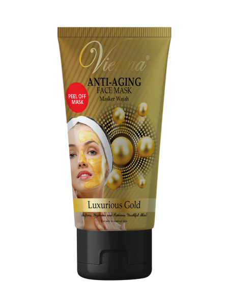 FACE SPA PEEL OFF MASK LUXURIOUS GOLD