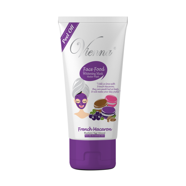 FACE FOOD PEEL OFF MASK FRENCH MACARON
